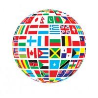 Прапори країн світу і прапори з лого