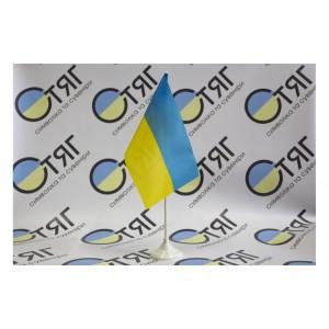 Флажок Украины, нейлон 12см*18см
