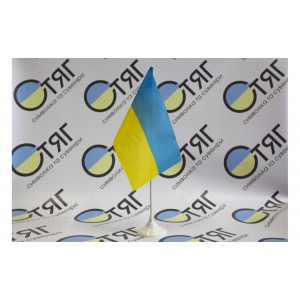 Прапорець України, нейлон 12см*18см