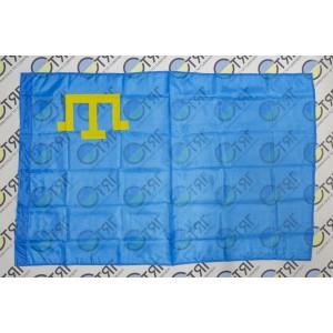 Прапор кримсько – татарський, нейлон 90см*135см