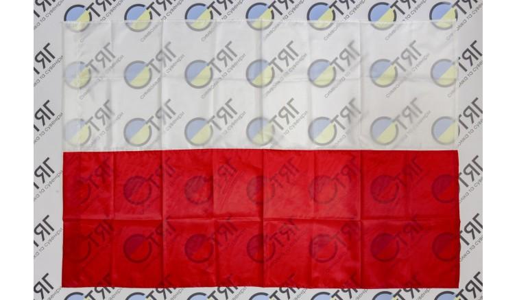 Флаг Польши, нейлон 90см*135см