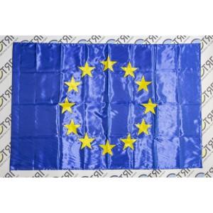 Флаг Евросоюза по атласа или габардина (на выбор) - 90*135см