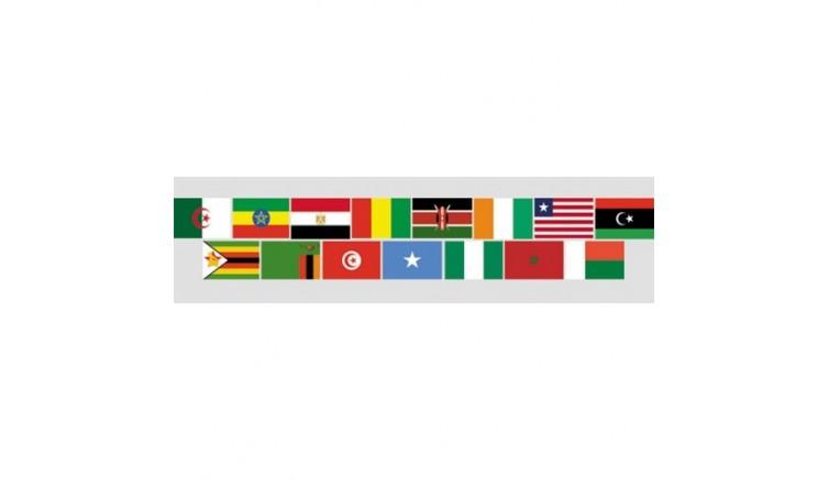 Прапори країн Африки