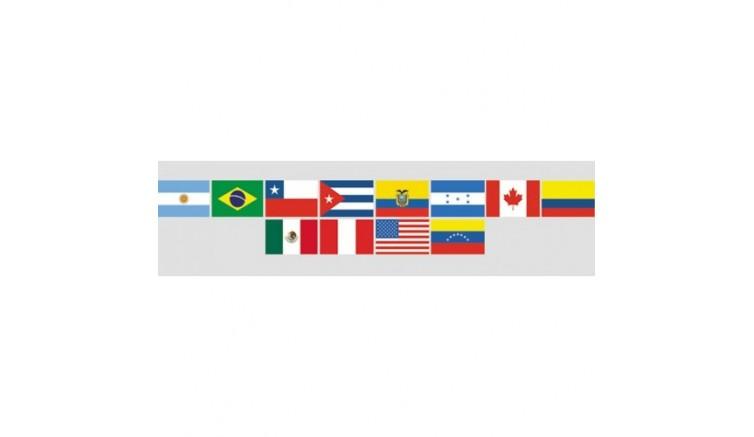 Прапори країн Америки