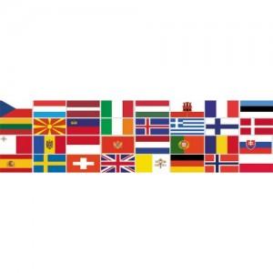 Флаги стран Ближнего и Среднего Востока
